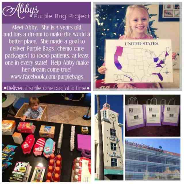 Abby's Purple Bag Project