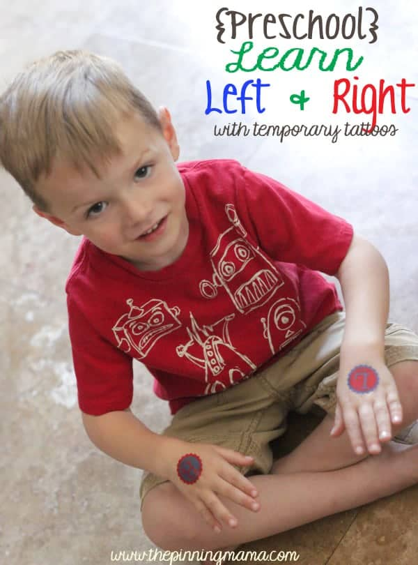 Left Right Custom Temporary Tattoo 3 web