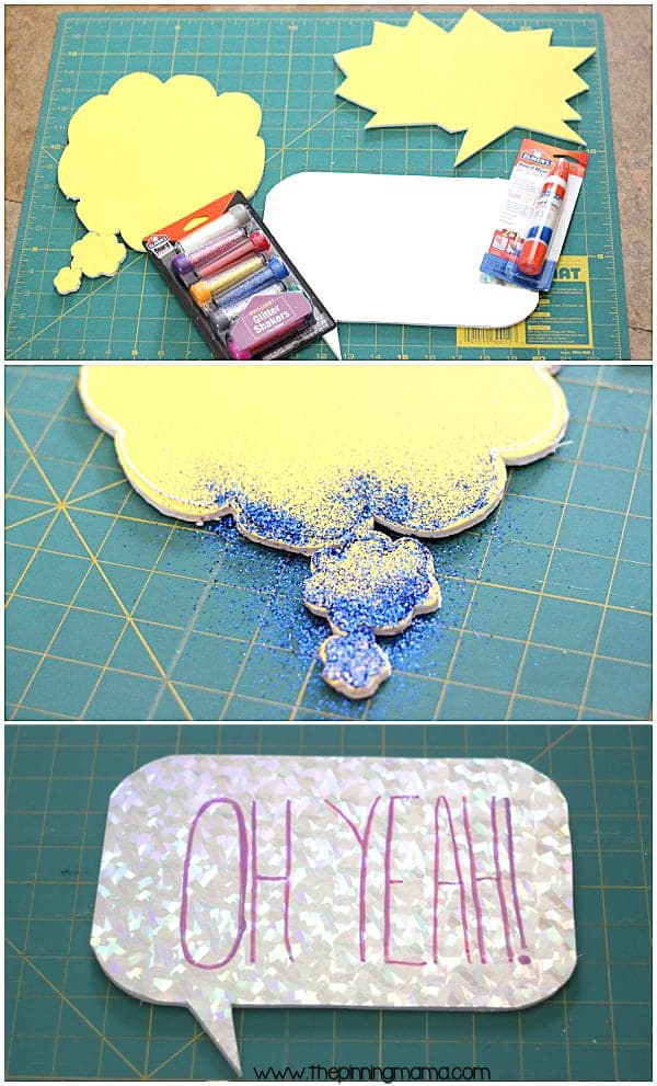 Making a portable photo booth is easy and affordable way to have tons of fun at summer parties!