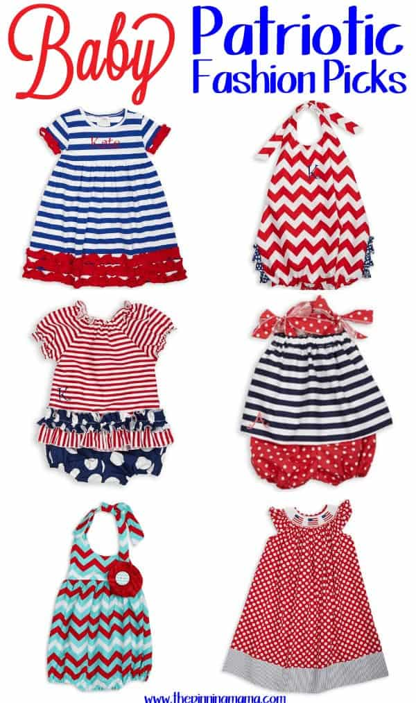 Baby girl 4th of July outfits and Fashion Picks web