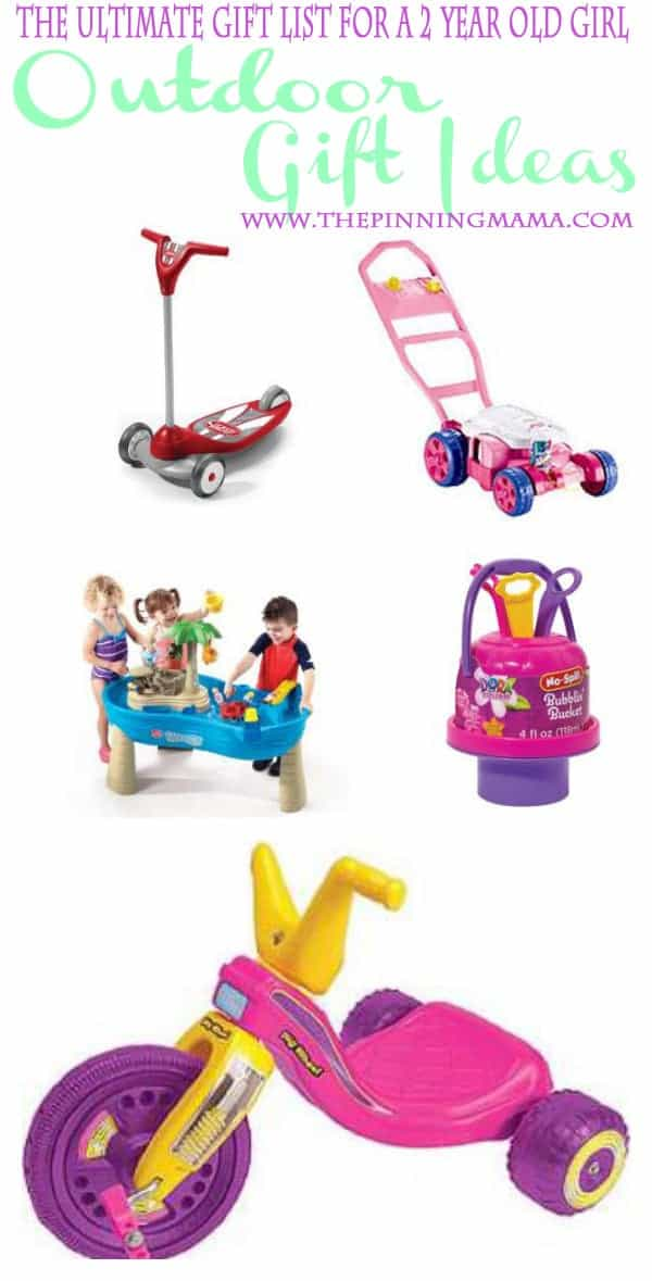 Best Gift Ideas for a 2 Year Old Girl! | The Pinning Mama