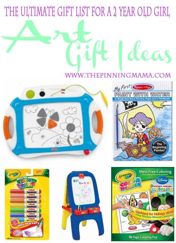 Art gift ideas - Let your child express their creative side!