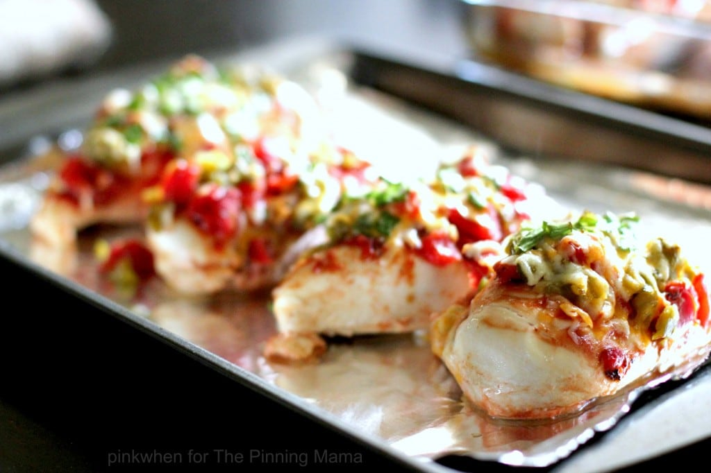 DELICIOUS and EASY -- That's my kind of dinner. Monterrey Chicken Bake