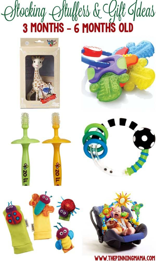 Stocking Stuffers & Small Gifts for a Baby | The Pinning Mama
