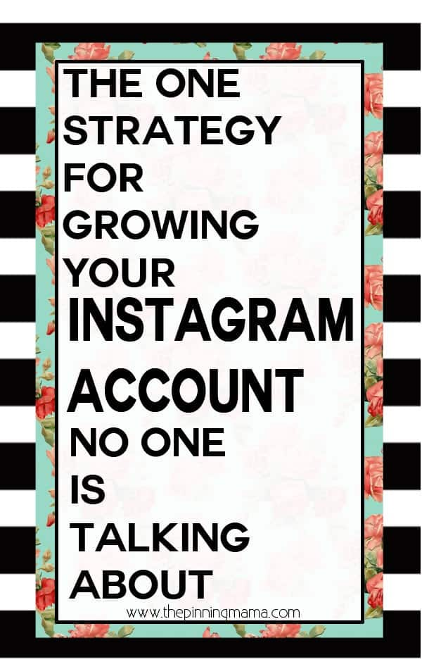 How to grow your following on Instagram the non-sleezy way.