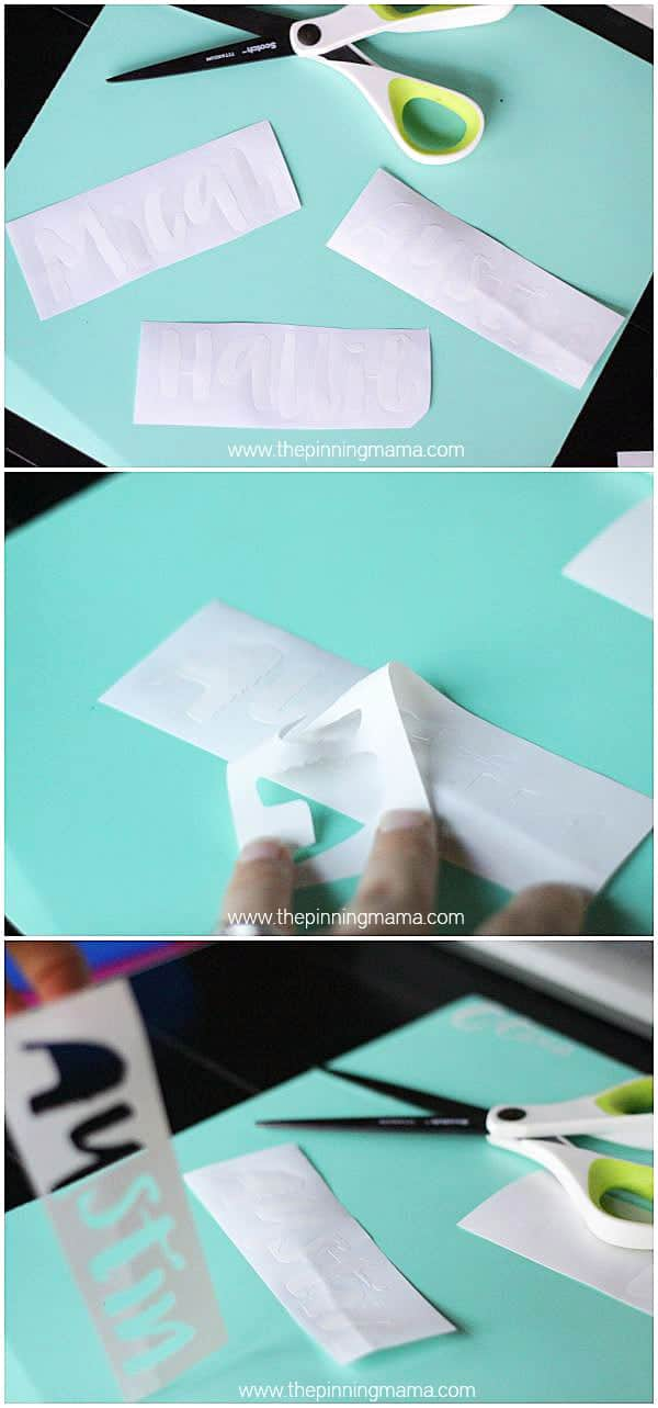 Silhouette Cameo 101: What is weeding vinyl