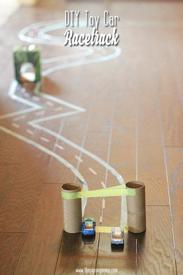 DIY Toy Car Race Track Creative Play Learn To Recycle