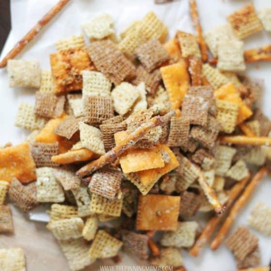 Cheesy Ranch Chex Mix Recipe