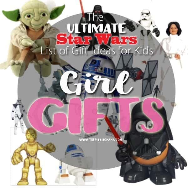 Star Wars isn't just for boys!  I love this list of Star Wars gifts just for girls!  Getting my daughter these for Christmas!