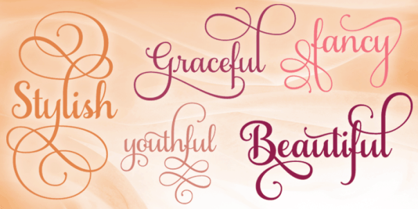 Where to find free & cheap fonts: Samantha font