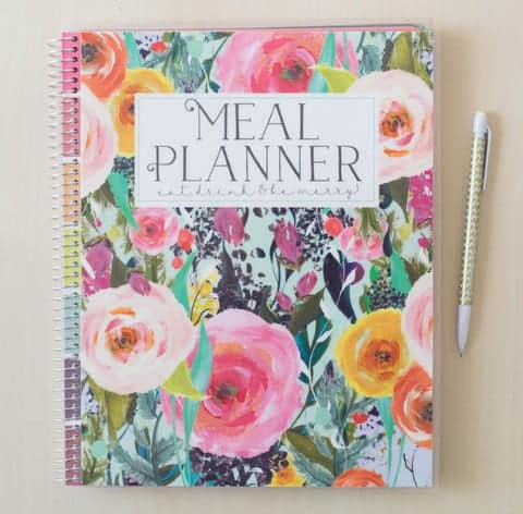 Planners to make meal planning easy: Carrie Elle Meal Planner