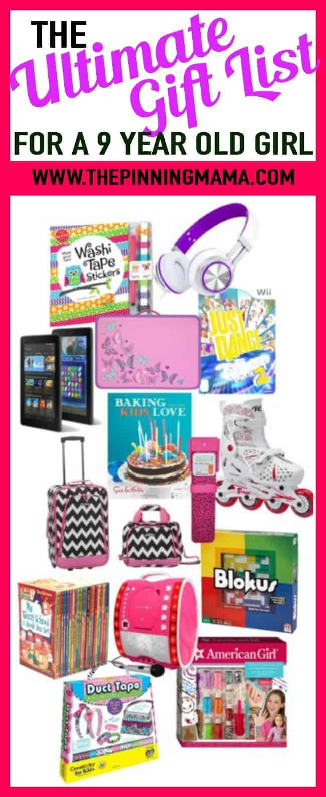 Gift for girl on birthday