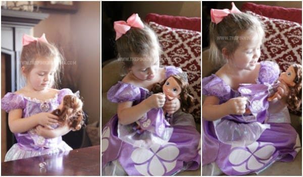 Sofia The First Doll for 3 Year Old