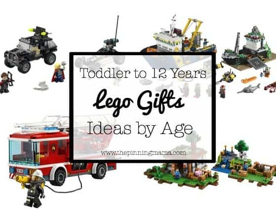 Lego Gift Ideas by Age - Toddler to Twelve Years| www.thepinningmama.com