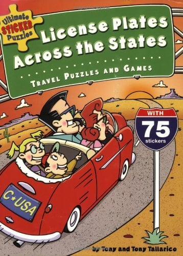 10+ Awesome Ways to Entertain your Kids on a Roadtrip: Ultimate Sticker Puzzles | www.thepinningmama.com
