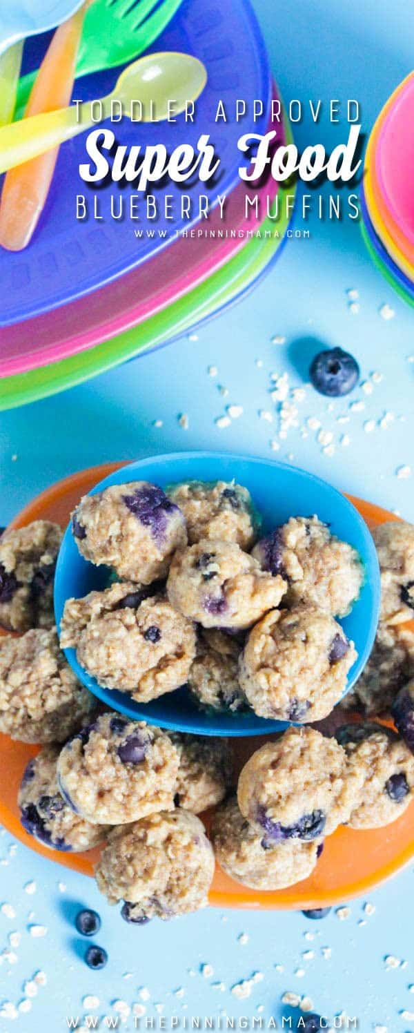 Toddler Super Food Muffins. These make a great easy breakfast idea or snack for baby! You can feel good about what you are feeding your kids and they will think it is a treat to eat!