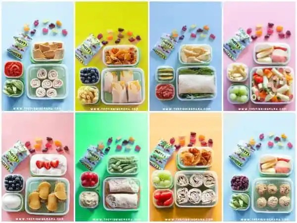 2 Weeks of No-Sandwich Lunch Box Ideas Kids will LOVE- No ...