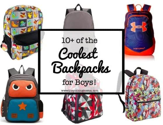10+ Best Backpacks for Boys | www.thepinningmama.com