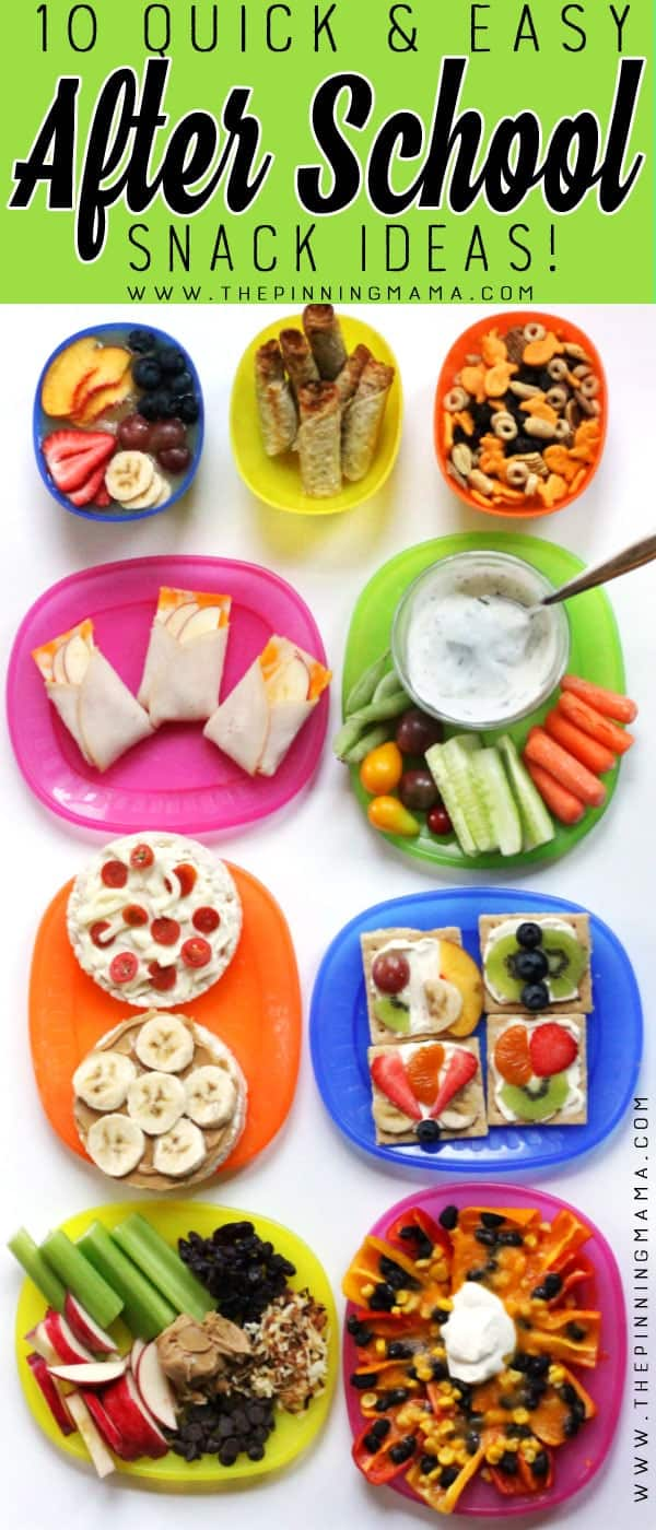 You won't believe how easy it is to make your kids a wholesome after school snack. These can be made in 5 minutes or less guaranteed!!