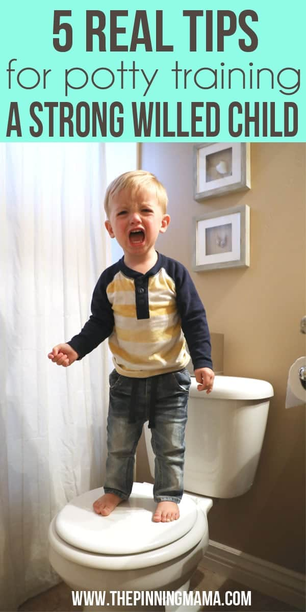 Seriously great! 5 REAL tips on potty training a strong willed child!