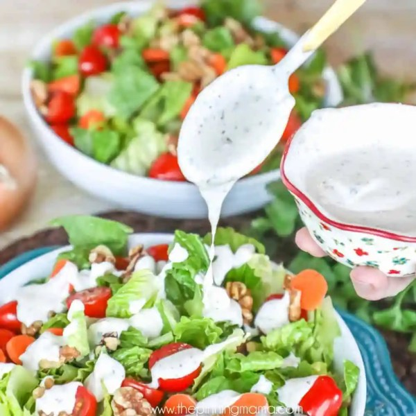 Whole30 Ranch Dressing Recipe The Pinning Mama