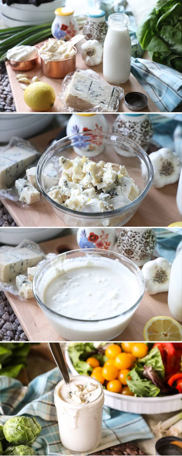 How to Make Creamy Gorgonzola Dressing