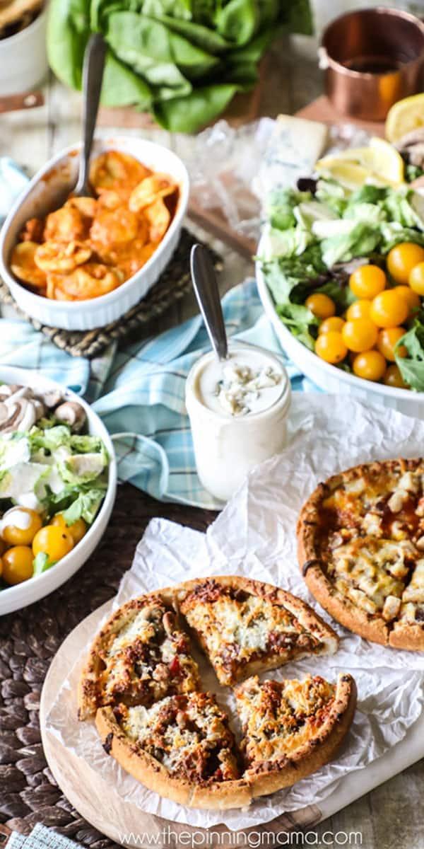Simple easy tapas style dinner
