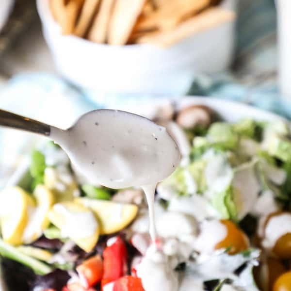 Creamy Gorgonzola Dressing Recipe for a Salad