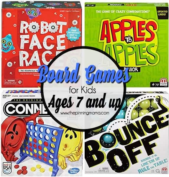 Board Games For Kids Ages 7 And Up The Pinning Mama