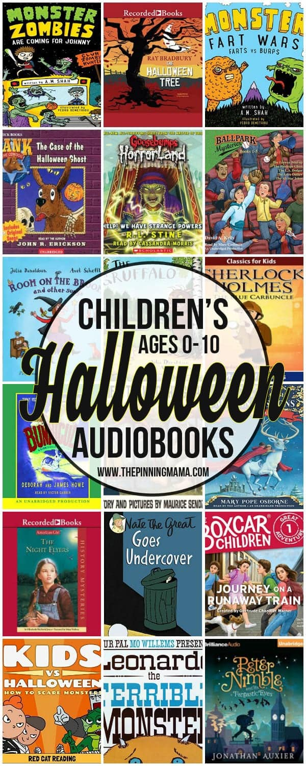 Halloween Books for Kids ages 0-10