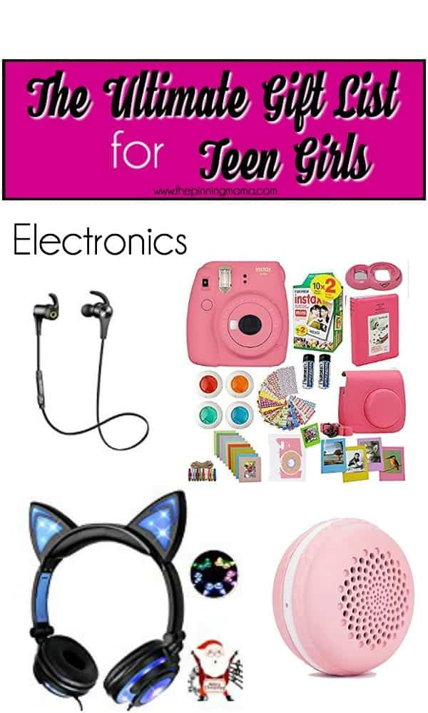 Big list of gift ideas for teens, Electronics