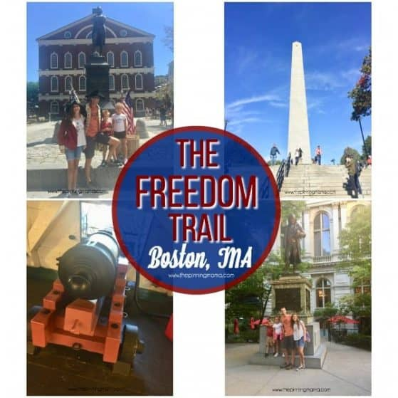 Your guide to walking the Freedom Trail in Boston, MA