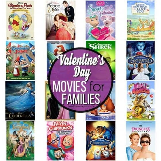 The Ultimate List of Valentine's Movies for your family.