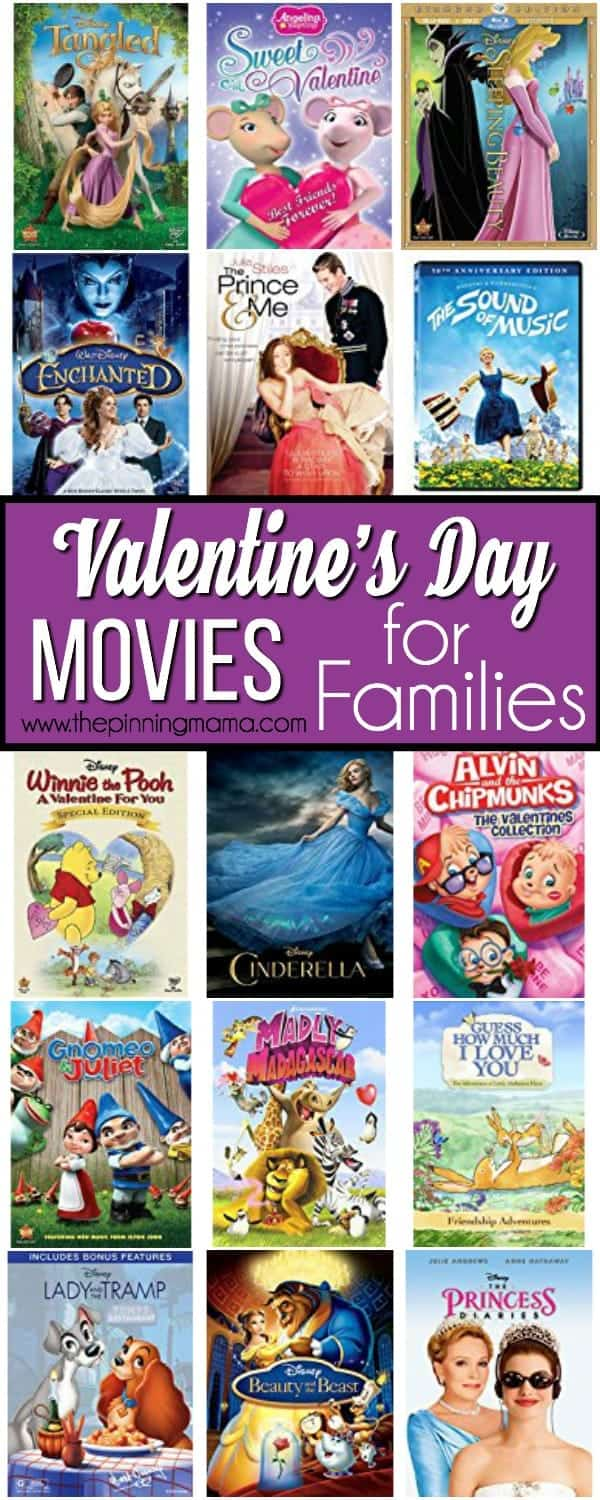 Valentine's Day Movies for Families.
