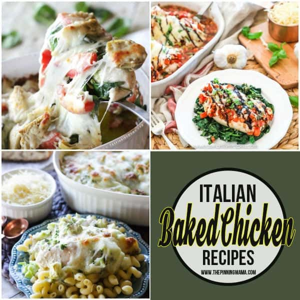 Italian Baked Chicken Recipes
