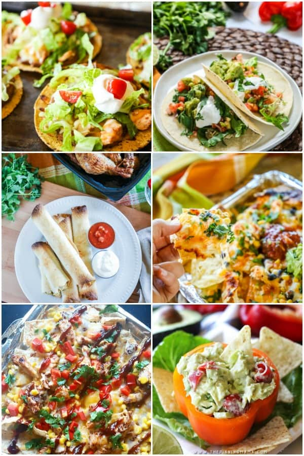 Mexican Rotisserie Chicken Recipes
