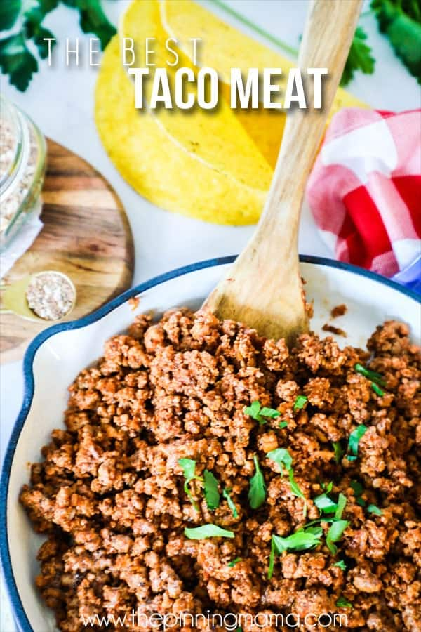 Our FAVORITE Taco Meat recipe