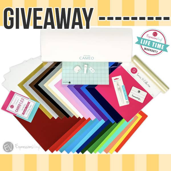 Summer Kickoff Giveaway – Silhouette Cameo Bundle!
