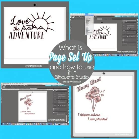 What is Page Set Up and how to use it in Silhouette Studio.