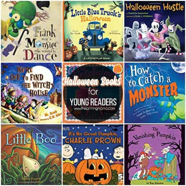The Big List of Halloween Books for Young Readers.