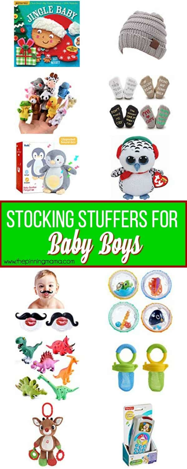 The Ultimate List of Stocking Stuffers for Baby Boys