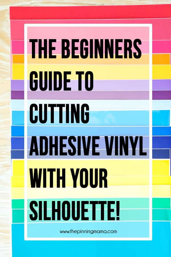How to Cut Vinyl with Silhouette CAMEO