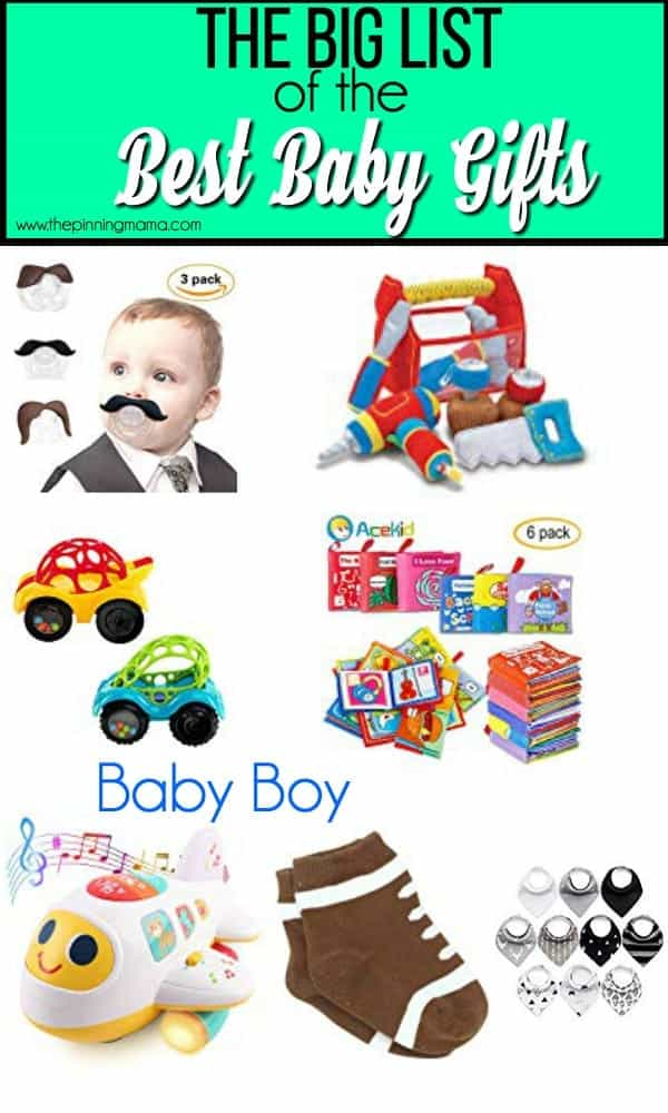 The Big List of the Best Baby Boy Gifts