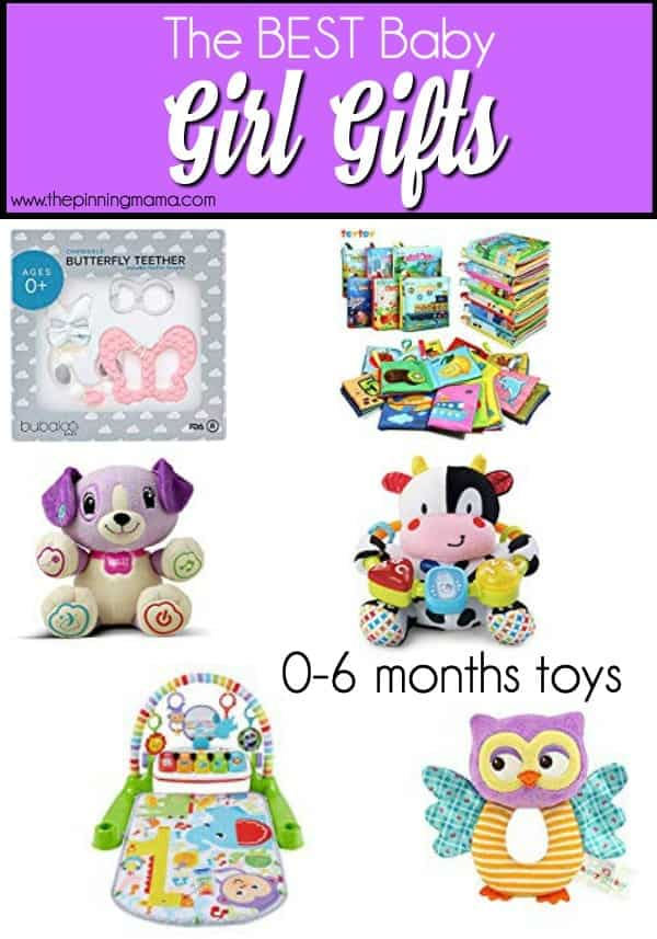 0-6 months baby girl gift ideas.