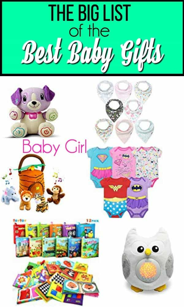 The Big List of Baby Girl Gifts