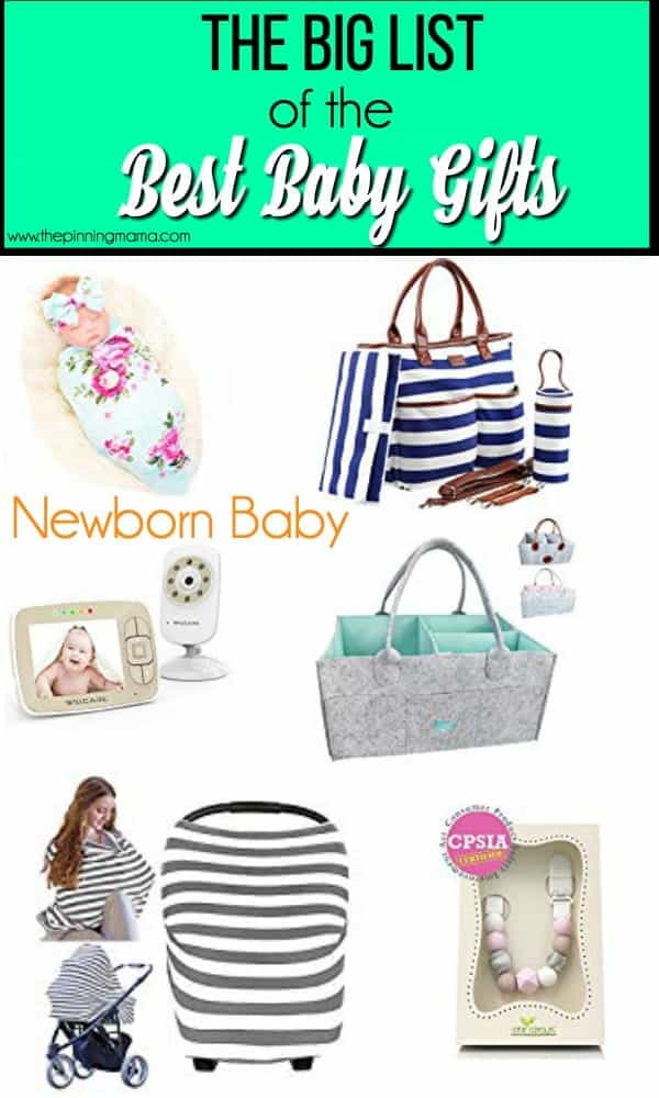 The Big List of Newborn Baby Gifts
