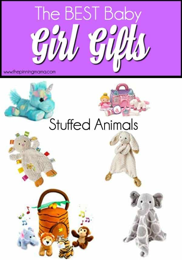 The Best List of Stuffed Animal Gift Ideas for Baby Girls.