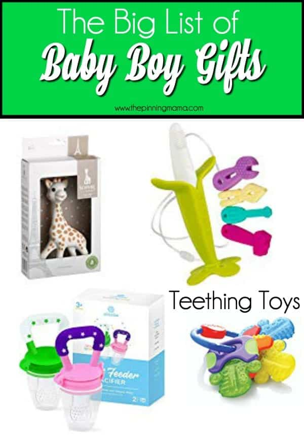 Teething toy gift ideas for Baby Boys