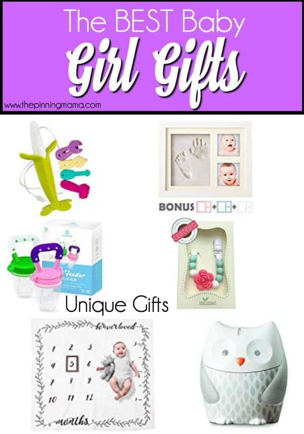 The Best list of Unique Gift Ideas for Baby Girls.