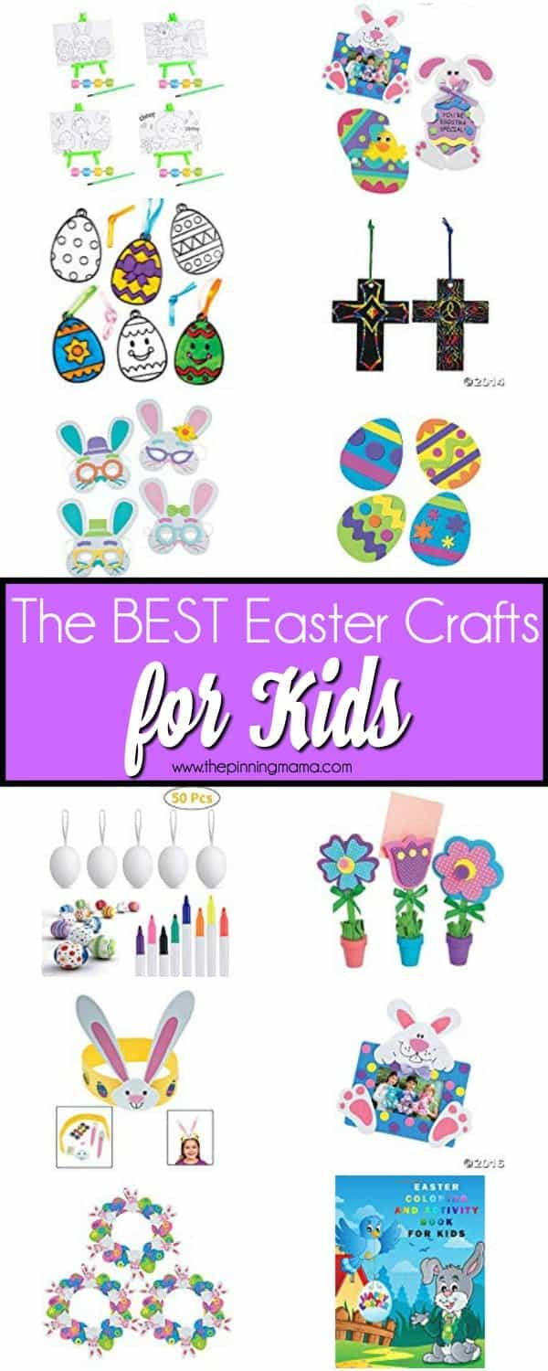 The BEST Easter Crafts for Kids